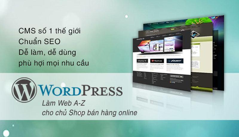 Tạo web bán hàng bằng Worpdress
